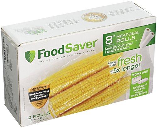 Foodsaver 2PK 8x20 Roll