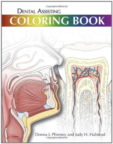 Dental Assisting Coloring Book by Donna J. Phinney (2010-07-30)