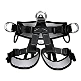 YaeTact Pro Tree Carving Fall Protection Rock Climbing Equip Gear Rappelling Harness,Half Body