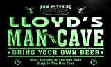 qd1470-g LLOYD's Man Cave Soccer Football Bar Neon Beer Sign