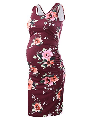 Liu & Qu Women's Maternity Sleeveless Tank Dresses