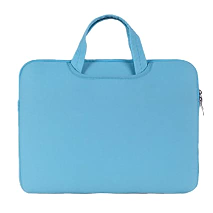Funda para Portátiles/Maletín con Asa para Ordenador Portátil Notebook/Ultrabook Tablet de Maleta Bolsa de Transporte,Cielo Azul
