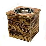 Single Medium Elevated Dog Dish // Medium Feeding Stand // Dog Dish // Elevated Dog Bowl
