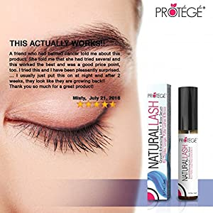 Eyebrow and Eyelash Growth Product - NaturalLASH - Best for Growing Thicker Longer Eyelashes and Bolder Eyebrows + Get More Lashes and Brows (5ml)