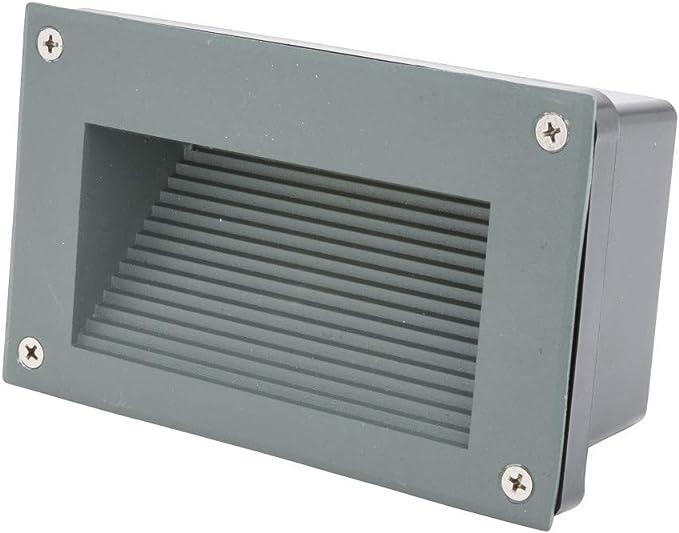 Greenice | Luz LED Empotrar IP65 3W 330Lm 30.000H Iris | Blanco Natural: Amazon.es: Iluminación