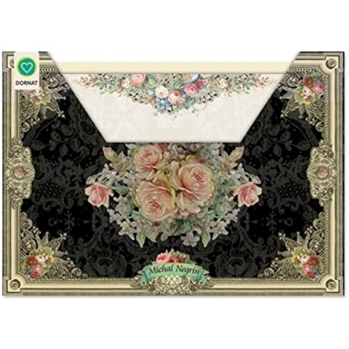 Michal Negrin, 10 all occasion designed greeting cards, in Keepsake Organizer package, Blank Cards, envelopes included Sales