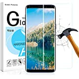 Galaxy S9 Glass Screen Protector,Yica Screen Protector for Galaxy S9 [Clear HD] [Anti-Bubble Film] [9H Hardness] [Anti-scratches] [Anti-Fingerprint]