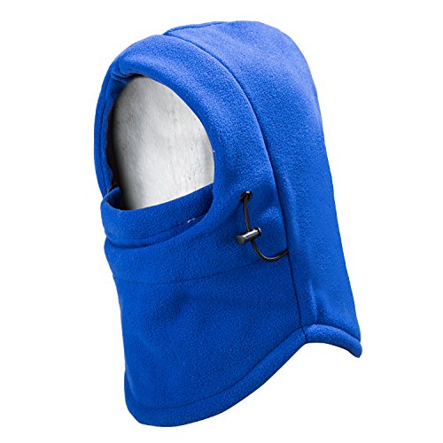 REDESS Kids Winter Windproof Hat, Unisex Children Heavyweight Balaclava, Ski Mask With Thick Warm Fleece Face Cover For Kids Blue Warm Fleece Hat