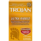 Best Ribbed Condoms - Trojan Condom Stimulations Ultra Ribbed Spermicidal, 12 Count Review