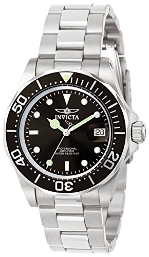 Invicta Men's 9307 Pro Diver Collection Stainless Steel Watch with Link Bracelet Collection Stainless Steel Bracelet