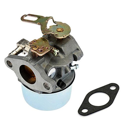 FitBest Carburetor for Tecumseh 632107 632107A 640084 640084A 640084B Snowblowers HSK40 HSK50 HS50 LH195SP with Gasket