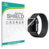 Apple Watch 38mm (Series 1 / Series 2 / Series 3) Screen Protector [6-PACK] [Military-Grade] RinoGear Sport Premium HD Invisible Clear Shield w/ Lifetime Replacements