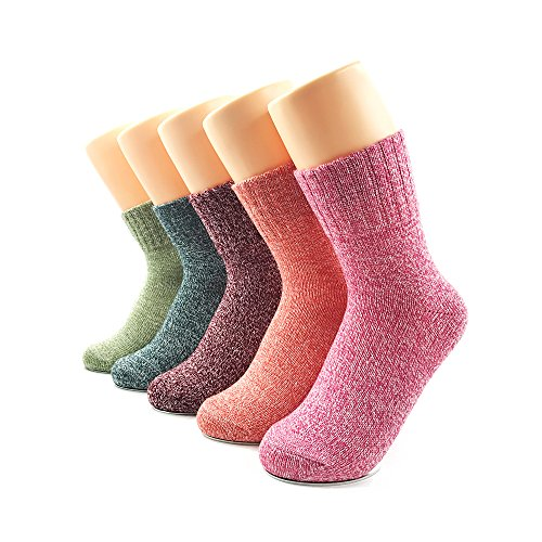 Winter socks, warm socks, AIMKE many colors can be chosen, wool knitted socks (female)