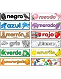 Teacher Created Resources Colors (Spanish) Headliners (4945)