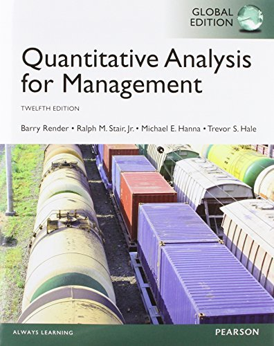 By Barry Render - Quantitative Analysis for Management, Global Edition (12th Edition) (2014-06-06) [Paperback] pdf
