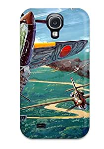 Craigmmons Fashion Protective Aircraft Military Man Made Military Case Cover For Galaxy S4