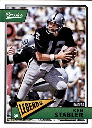 Ken Oakland Raiders (2018 Classics Football #171 Ken Stabler Oakland Raiders Legend Panini NFL Card)