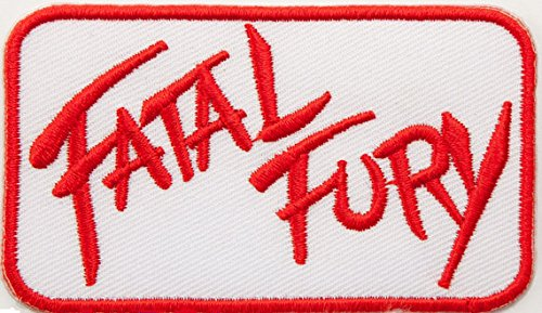[Fatal Fury Patch (3 Inch) Embroidered Iron on Badge Retro Gamer Costume Applique Cosplay Motif Bag Hat] (Fatal Fury Terry Bogard Costume)