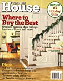 This Old House, December 2007 Issue