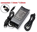 19.5V 3.34A 65W AC Charger Replacement for Dell Latitude E6430 E6410 E5440 E6440 E5530 E7440 E5430 E6230 E6330 E6530 E6540 06TM1C HK65NM130 LA65NM130 HA65NM130 Power Laptop Adapter Supply Cord