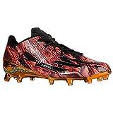 adidas  Men's Adizero 5-Star x Kevlar Black/Black/Equipment Orange Athletic Shoe