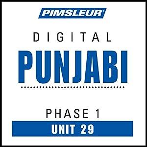 Punjabi Phase 1, Unit 29 Audiobook