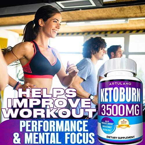 Keto Pills - 5X Potent (2-Pack   3500MG) - Best Keto Burn Diet Pills - Boost Energy and Metabolism - Exogenous Keto BHB Supplement for Women and Men - 180 Capsules 6