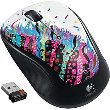 Logitech Wireless Mouse M325 (Celebration Black) by Logitech
