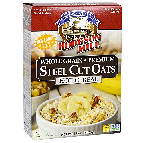 - Hodgson Mill Steel Cut Oats, 18-Ounce (Pack of 6)