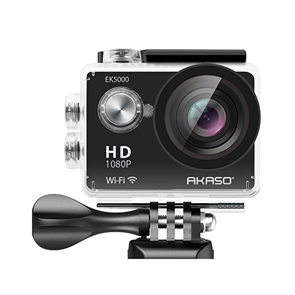 AKASO-EK5000-1080P-Sports-Action-Camera-Full-HD-Camcorder-12MP-WiFi-Waterproof-Camera-2-Inch-LCD-Screen-170-Degree-Wide-View-Angle-W2-Rechargeable-Batteries19-Accessories-Kits