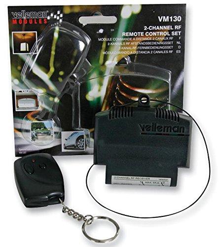 2-Kanal-RF-Fernbedienungsset  Velleman VM130