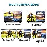 4x1 HDMI Quad Multi-Viewer, NEWPOWER HDMI Quad