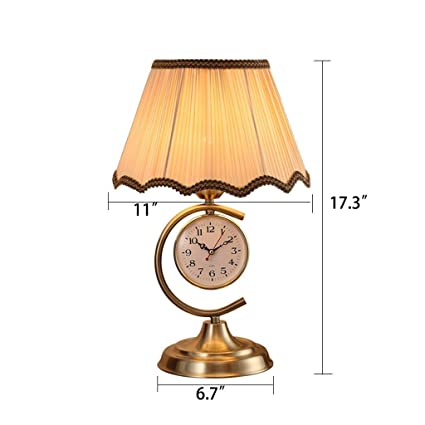 ChuanHan Ceiling Fan Light Chandelier Lightings Table Lamp Modern Contemporary Led Clock Table Iron Process Metal