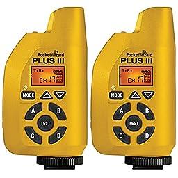 PocketWizard 801-131 Plus III Transceiver (Yellow) - 2-Pack
