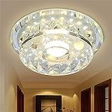 Modern LED Pendant Flush Mount Ceiling Fixtures Light Crystal lights off the door lights hall lights floating window ceiling lamp led spotlights, 200mm