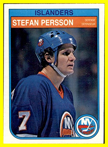 1982-83 O-Pee-Chee #209 Stefan Persson NEW YORK ISLANDERS by thecardattic