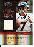 Certified Football NFL 2012 Fabric of the Game Jersey #25 John Elway MEM 37/199 Broncos