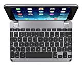 BrydgeMini Bluetooth Keyboard for iPad Mini 1,2 and 3 Keyboard. Backlit, Aluminum, Detachable, Rotating Hinges, 180 Degree Viewing. (Space Gray)