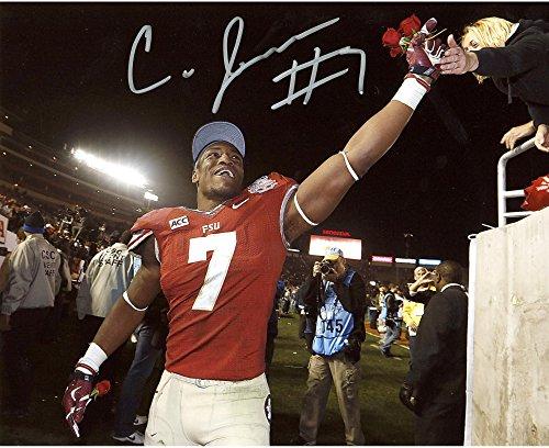 Christian Jones Florida State Seminoles Autographed 8