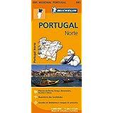 Portugal Norte - Michelin Regional Map 591 (Michelin Regional Maps)