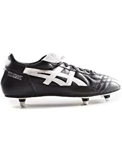 f8ab25f61 ASICS Men's Testimonial Light ST Football Shoes, Black/White, ...