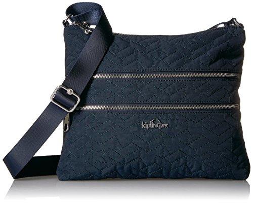 Kipling Alvar Solid Quilted Crossbody Bag, True Blue