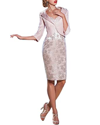 dressvip 2 Pieces Lace Mother Of The Bride Dresses Women Prom Dresses For Weddings