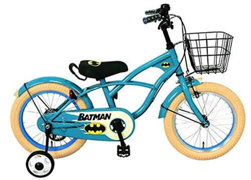 BATMAN(バットマン)-18インチ 子供車 B01N1R4IGDターコイズアイボリー