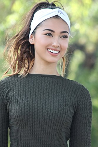 CYBER MONDAY SALE! - Premium Headband for Women Material, Sweat Wicking, Best Looking Head Band for Fashion, Yoga and Exercise - Love It Guaranteed! - Monday Sales