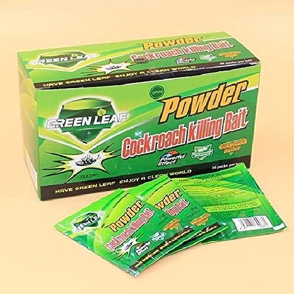 Green Leaf INSECTICIDA DE CUCARACHAS Muy EFICAZ por ...