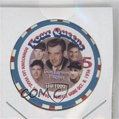 Don Larsen #/1,000 (Baseball Card) 1996 Four Queens $5 Casino Chips - [Base] #DOLA