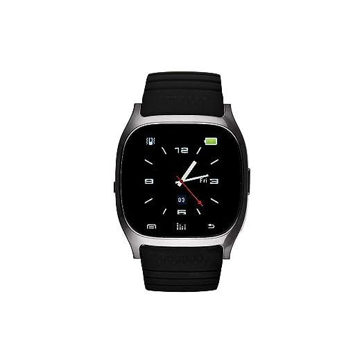 Eclock Reloj Digital para Unisex Adultos de Cuarzo con Correa en Caucho EK-C1: Amazon.es: Relojes