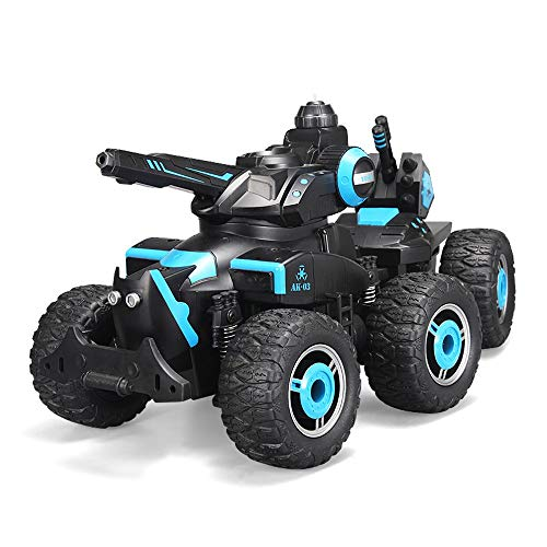 (Tagke Remote Control Launch Water Column Charging Remote Control Car Six-Wheeled Off-Road Vehicle 360 ° Rotating Play Various Independent Shock Absorber System Anti-Fall Crash Climbing Car RC Car)