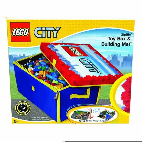 LEGO City Zipbin Storage Box and Playmat - Caja y tapete de juego: Amazon.es: Juguetes y juegos